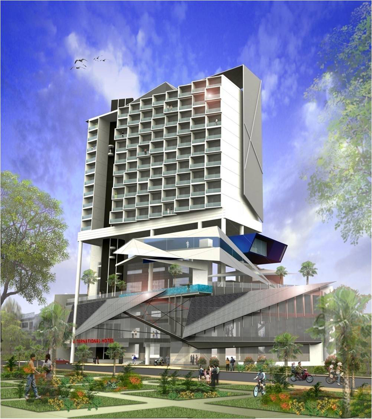 PROPOSED CANTHO HOTEL, VIETNAM