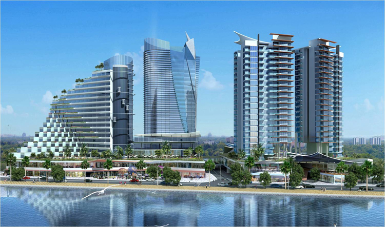 MIXED DEVELOPMENT AT VUNG TAU, VIETNAM