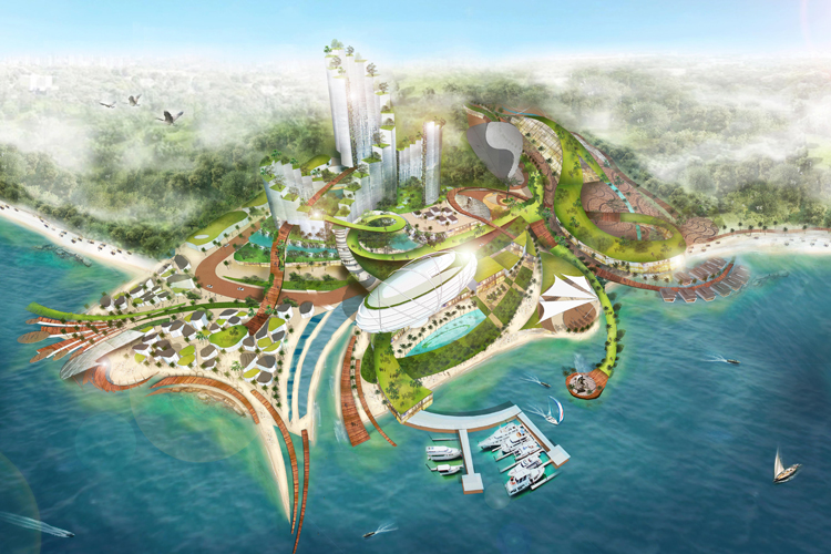 MASTERPLANNING IN BATAM, INDONESIA