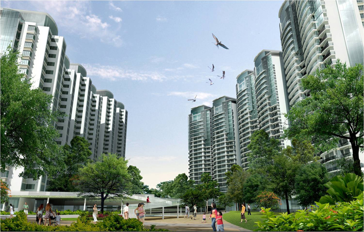 RESIDENTIAL DEVELOPMENT AT XIAOLAN, CHINA