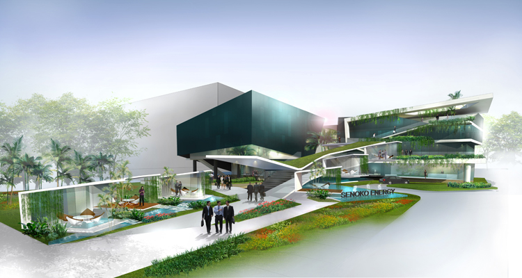 PROPOSED CORPORATE OFFICE