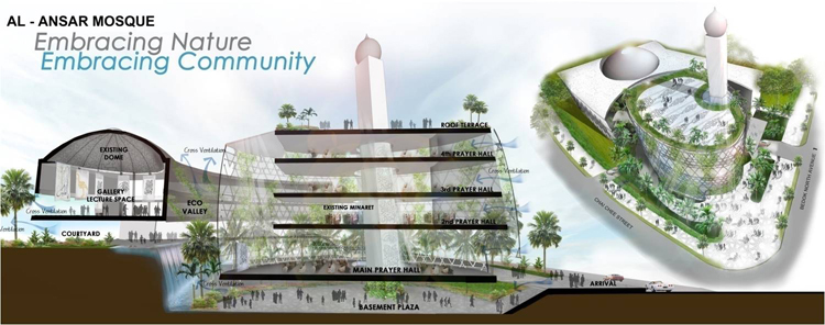 AL-ANSAR MOSQUE COMPETITION ENTRY