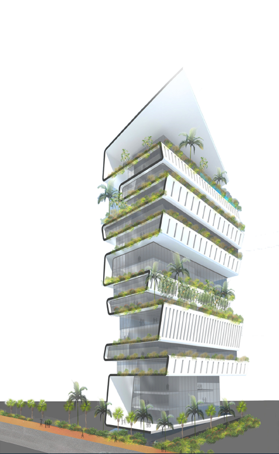 PROPOSED 18 STOREYS OFFICE BUILDING, PHNOM PENH